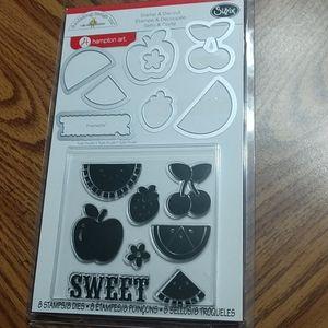 Doodlebug Design Stamp & Die Set NIP